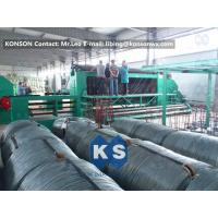 22Kw High Efficiency Gabion Box Machine With 4.9mm PVC Wire / 80mmx100mm Mesh Manufactures