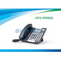China Corded Telephones POE IP Phone 4 SIP lines 3.2 224 x 128 Pixel LCD Dual Ethernet Port on sale