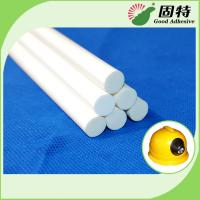 Milk White Stick-Like Solid Water Resistence Hot Melt Glue Sticks Gun For Flame Resistence And Protect Safety Manufactures