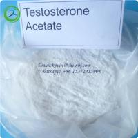Highly Pure Raw Hormone Powders Testosterone Acetate CAS 1045-69-8 For Muscle Enhancement Manufactures