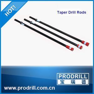 7°11°and 12° Tapered drill rod, taper rod, tapered drill steels Manufactures