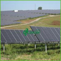 China 15 MW aesthetics of solar power plants With Aluminum Bracket on sale