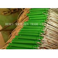 Strong Adhesive Force Wire Bucket Handles 3.0 - 4.0mm Wire Diameter For Water Bucket Manufactures