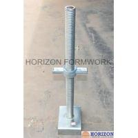 BS1139 Standard Scaffold Screw Jack Heads With High Loading Strength Manufactures