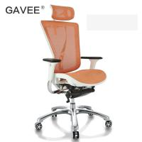 Double Spring Ergonomic Conference Chair Light Aluminum Frame For Adults Manufactures