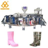 1/2 color Fully Automatic PVC Farmer boots Injection Moulding machine boot making machine Manufactures