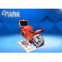 Kiddie Ride On Motor Super Motorcycle Race Car Game Machine 1 Player Manufactures