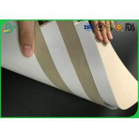 FSC Certificated 250g 300g 350g 400g 450g Waterproof One Side Coated Duplex Paper Manufactures