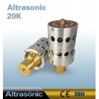 Buy cheap High Cost Performance 20khz Replacement Dukane 110-322 Ultrasonic Transducer from wholesalers