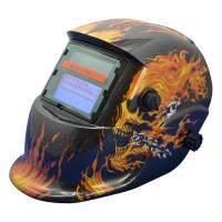Fully Automatic Solar Powered Auto Darkening Welding Helmet 90*40mm View Area Manufactures