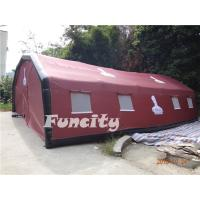 China Customized Inflatable AIR Tent with Durable PVC Tarpaulin Temporary Inflatable Structures on sale