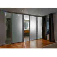 Bullet Proof Security Aluminium Sliding Doors Powder Coated ISO 9001 Certificate
