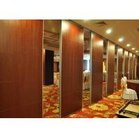 Wooden Office Divider Portable Acoustic Panels Aluminum Frame Manufactures