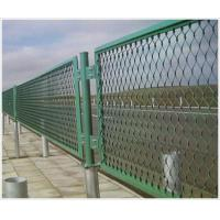 Green heavy duty steel Wire Mesh Fence for super highway , studio Manufactures