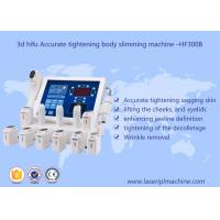 China 3d Hifu Ultrasound Machine / Accurate Tightening Body Slimming Facial Lifting Beauty Machine on sale