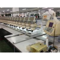 High Speed Original Second Hand Barudan Embroidery Machine With Panasonic Motor Manufactures