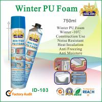 Weather Resistant Winter PU Foam Sealant For Heat Insulating / Adhering