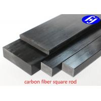 High Strength CFRP Carbon Fiber Pultrusion With Square Or Rectangular Rod Shape Manufactures