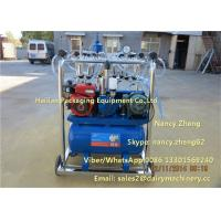 Diesel Engine And Electric Motor Cow Milking Machine With Jetter Tray Washing Manufactures