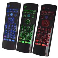 T3 Air Mouse Backlight Smart Remote Wireless Keyboard For Android Box Manufactures