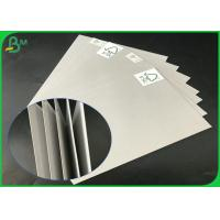 FSC Certificated 2.0mm 2.5mm 70 x 100cm Uncoated Grey Board For Packages Boxes Manufactures