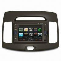 GPS Car Navigation System with In-dash DVD Player and USB Port, Compatible with Apple's iPhone Manufactures