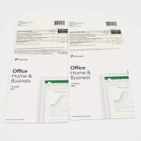 English Computer OS Software Office 2019 Home And Business Card Manufactures