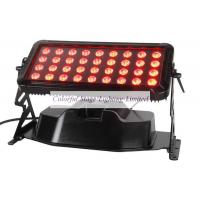 LED UPlighting 36*10W RGBW 4 in 1 Waterproof LED Wall Washer Light Manufactures