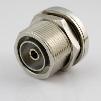 L29 RF Coaxial Mini Din Coax Connector Nickel Plated 0~7.5GHz Frequency Manufactures