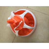 Floor Raising Deep Litter System Chicken Feed Pan In Poultry Manufactures