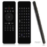 2.4Ghz Wireless Air Mouse & Keyboard With Gyroscope , Rechargeable Air Mouse Manufactures