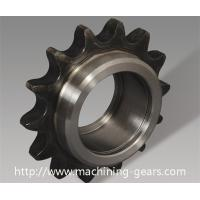 CNC Machining Single / Double Chain Sprocket Wheel With Hardened Teeth Manufactures