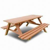 Quality WPC Outdoor Picnic Table, Eco-friendly, Available in Various Colors for sale