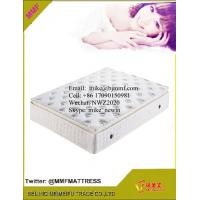 Pocket Coil Spring Mattresses with Memory Foam Topper Manufactures