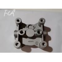 OEM ODM Fuel Filter Head Customizable Silver Color For Excavator Diesel Engine Manufactures