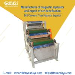4 - 10T 3 Layer Magnetic Roll Separator , Metal Separation Equipment 1.5KW Feldspar sand Quartz Manufactures