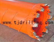 Core barrel with replaceable teeth Manufactures