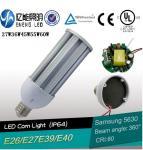 high lumen 130LM/W E27E40E26E39 60W led street light lamp led corn light smd5630 cri>80 3 years warranty CE ROHS Manufactures