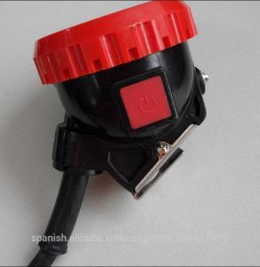 5Ah corded  LED mining hard hat light,high luminance mining cap light Manufactures