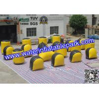 Tactical  Inflatable Bunker For Paintball Sport Games , Paint Ball Bunkers Manufactures