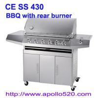 Gas Barbeque with Rear Burner Manufactures