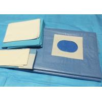 China Cardiovascular Split Disposable Sterile Surgical Drapes Infection Control Single Use on sale