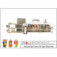 Customize Horizontal Form Fill Seal Machine , Top Spout Pouch Packing Machine Manufactures
