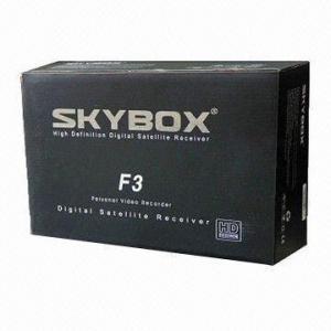 FTA Skybox F3 HD Receiver, 1080p Full HD Digital Satellite Receiver Skybox & Openbox F3 Manufactures