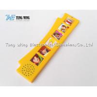 Orange Durable Button Sound Book Baby sound chips for cards Manufactures