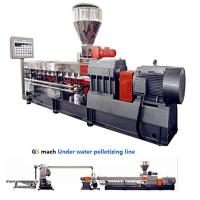 300 - 400 Kg / H Double Screw Extruder Machine With Under Water Pelletizing System Manufactures