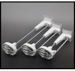 COMER Metal chrome slatwall display hooks in Supermarket