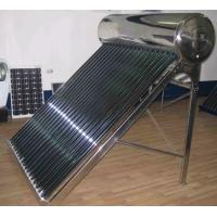 120L non-pressurized color steel solar water heater system Manufactures