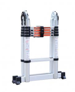 Extendable 150kg 3.2m Aluminum Multi Purpose Ladder Manufactures