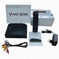 Vivo Box IKS/SKS Twin Tuner FTA Digital Satellite Receiver/DVB-S Receiver for South America Manufactures